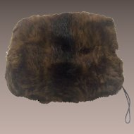 Mink Muff - Fur to re-Purpose