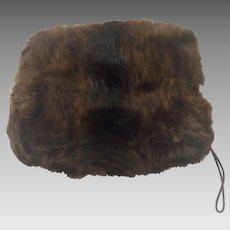 Mink Muff - Fur to re-Purpose