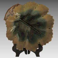 Etruscan Majolica Leaf Design ~ Griffin Smith & Hill ~ Phoenixville, PA 1879-1880