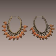 Vintage Gypsy Set Hoop Earrings