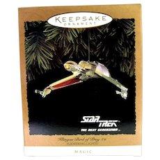 Hallmark Star Trek Klingon Bird of Prey with Flickering Lights 1994