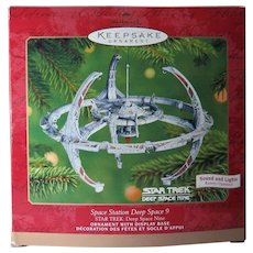 Hallmark Star Trek Space Station Deep Space 9 Lights 2001