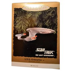 Hallmark Star Trek USS Enterprise Magic Blinking Light 1993