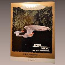 Hallmark Star Trek USS Enterprise Magic Blinking Light 1993