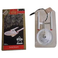 Hallmark Star Trek 1991 Starship Enterprise - First in Series - NCC-1701