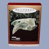 Hallmark 1995 StarTrek Romulan War Bird with Light and Magic