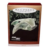 Hallmark 1995 StarTrek Romulan War Bird with Light and Magic
