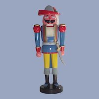 "21"" Tall German Nutcracker LARGE  Musketeer with Original Box"