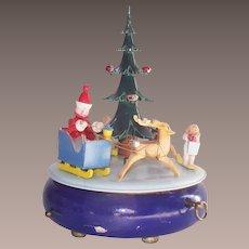 Steinbach Music Box Christmas Tree Volkskunst Germany