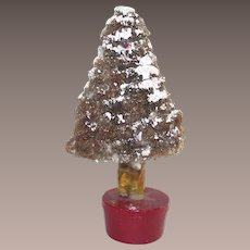 Pipe Cleaner and Paper Mache Christmas Tree