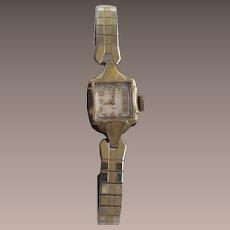 Ladies Elgin 10Kt Gold Fill Ladies Wrist Watch