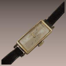 Lucien Piccard Ladies 14kt Wrist Watch