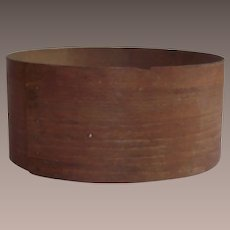 """Country Bentwood Grain Measure Early 19th Century 8 3/4"""""""