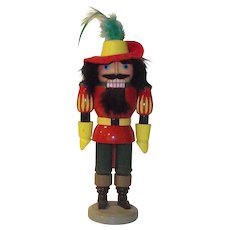 East German Musketeer Nutcracker by Erzgebirge