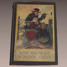 1911 TOM BROWN'S School Days by Thomas Hughes - Louis Rhead Color Illustrations