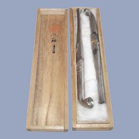 Japanese Opium Pipes - Boxed Set  Circa 1950