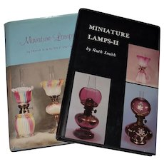 Miniature Lamps by Frank and Ruth E Smith Book One & Book Two - First Edition