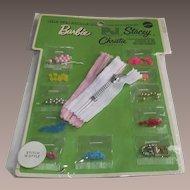 1969 Mattel Barbie Stitch 'n Style Accessories