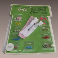 1969 Mattel Barbie Stitch 'n Style Accessories