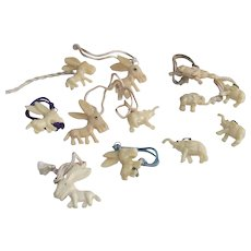 Cracker Jacks Toys Six Elephants – Six Donkeys