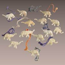Cracker Jacks Toys Fifteen Piece Elephants