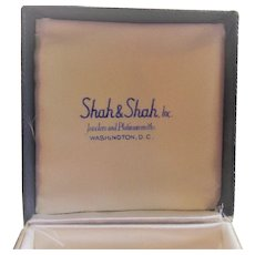 Shah and Shah Inc.  Jewelry Box