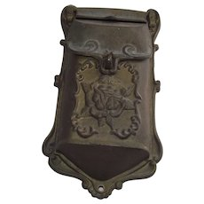 Cast Iron Victorian Style Mailbox