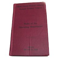 Maine Central Railroad and Co Portland, Maine Rules of The Operating Department
