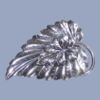 Danecraft Sterling Silver Leaf Brooch – Pin