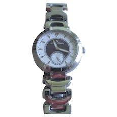 Lucien Piccard Women's Casablanca Analog Silver-Tone Watch