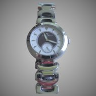 Vintage Lucien Piccard Women's Casablanca Analog Display Silver-Tone Watch