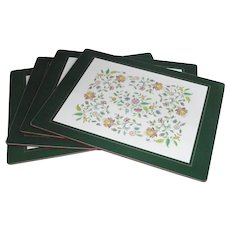 Vintage Traditional Placemats By Lady Clare Boxed Set of Four