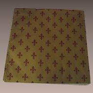 Vintage Fleur-de-Lis Wrapping Paper
