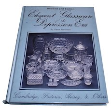 Elegant Glassware Depression Florence Price 1985 guide