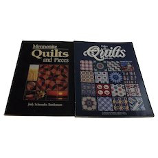 Mennonite Quilts and Gallery of American Quilts 1849-1988 Two books