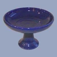 Fiesta Cobalt Pedestal Compote  Original Color
