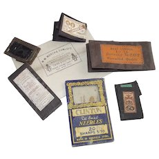 Mixed Collection of Vintage English Sewing Needles 6 Packages