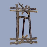 Arts and Crafts Era Picture Easel Handmade