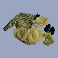 1950's Ginny Doll Outfit Five Piece Set