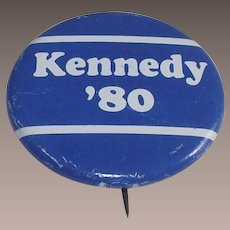 Ted Kennedy for President 1980 Pinback