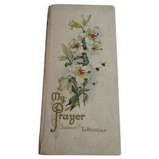 Victorian Illustrated Best Wishes Series J.G.Whittier Book