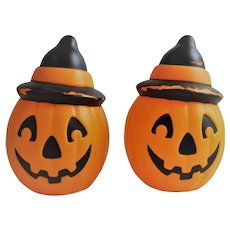 Plastic Blow Mold Light Jack O Lantern - JOL