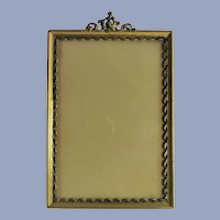 Gold Table Top Picture Frame C. 1920