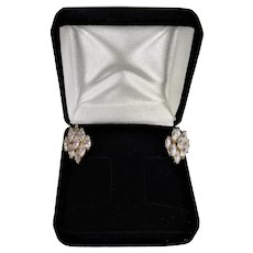 Nolan Miller Dancing Marquise Pierced Earrings