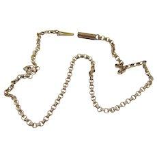 Vintage Gold Rolo Ankle Bracelet
