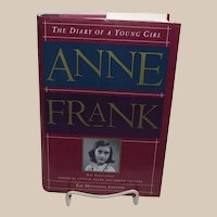 Anne Frank: The Diary of a Young Girl : The Definitive Edition Hardcover 1995  First Edition - The Diary as Anne Frank Wrote It