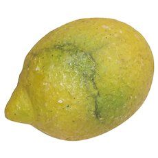 Vintage Italian Stone Lemon A Fantastic Example