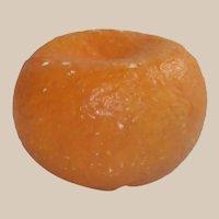 Vintage Italian Stone Tangerine Fantastic Shape