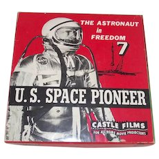 8MM Castle Films U.S. Space Pioneer Astronaut - C 1960s
