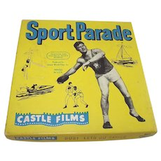 8MM Castle Films Sports Parade – Lets Go Skiing C 1960s